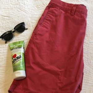 Men's banana republic Gavin chino shorts size 31